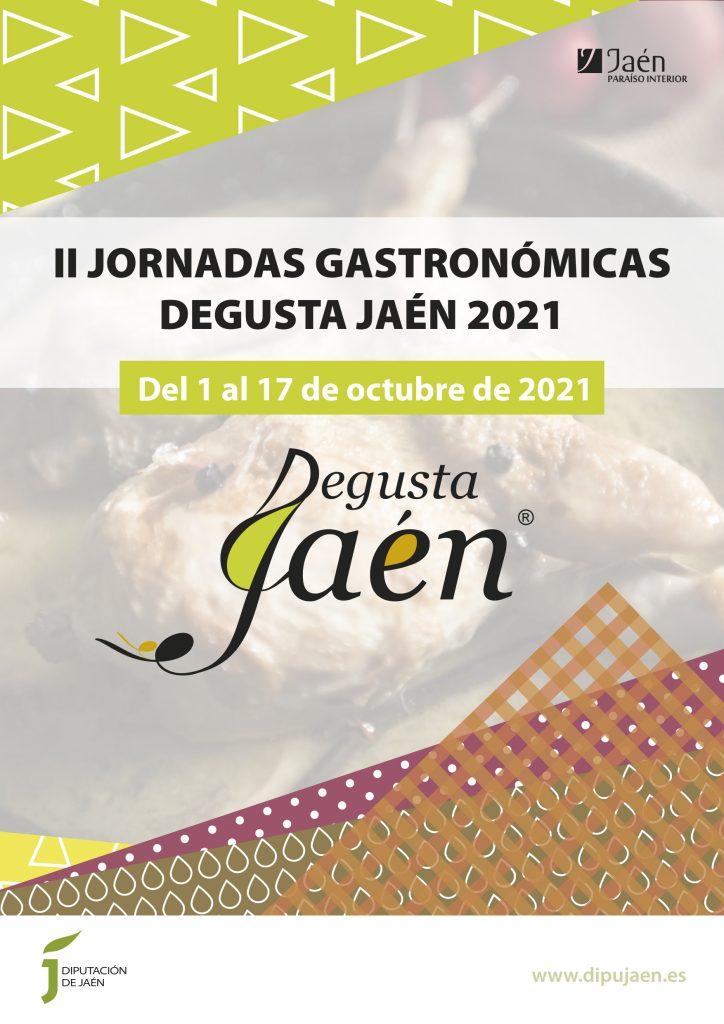 Cartel - Jornadas Gastronomicas Degusta Jaén