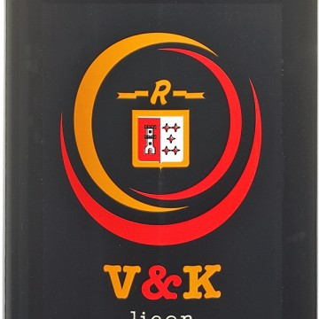 LICOR V&K CHOCOLAT NOIR RISKA 0,7 L. 24º