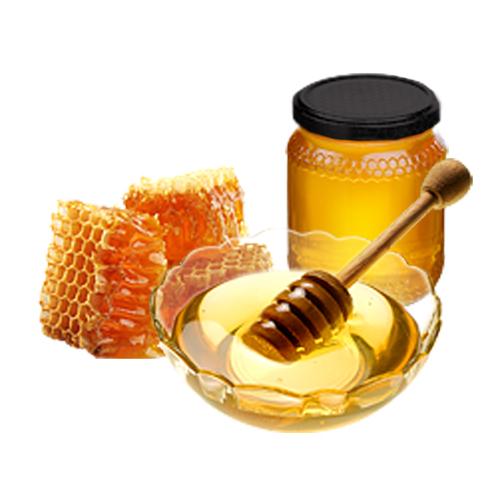 Miel y plato