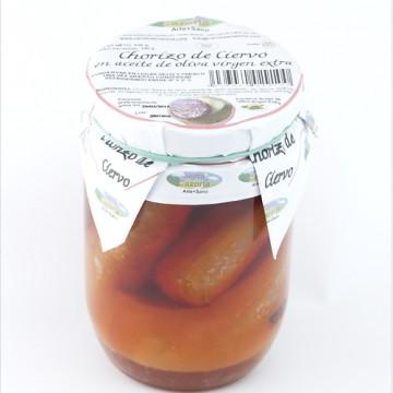 Chorizo de Ciervo al Aceite de Oliva