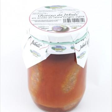 Chorizo de Jabalí al Aceite de Oliva