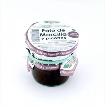 Paté de Morcilla y Piñones.